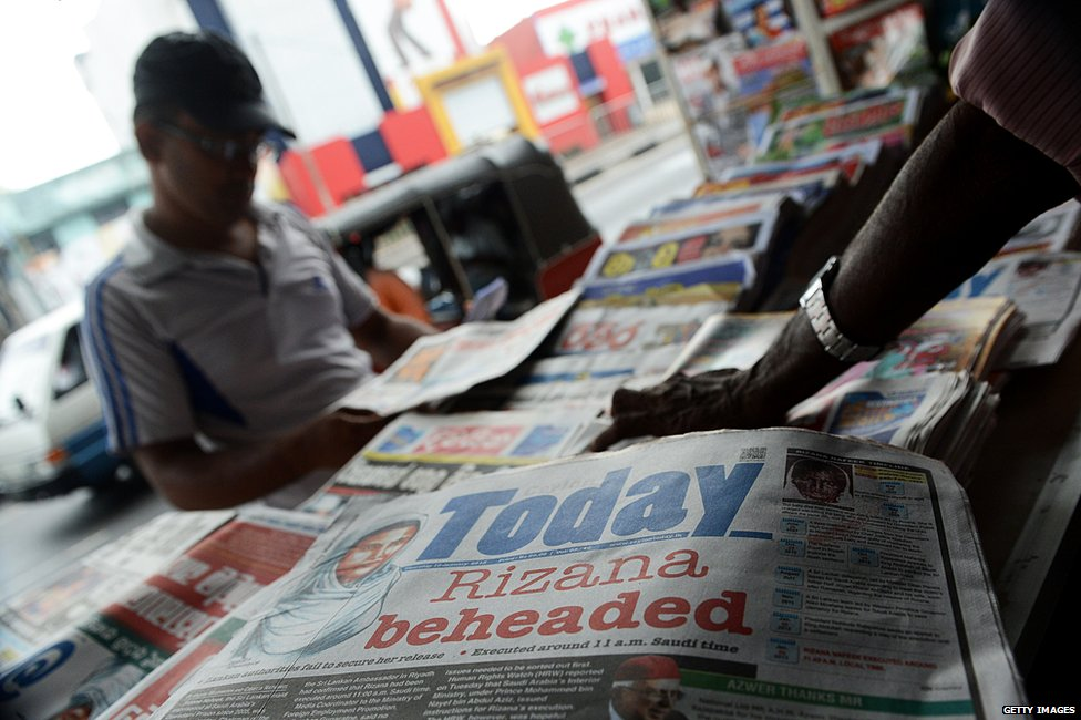 Indonesian newspaper