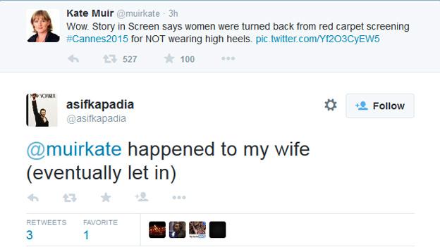Asif Kapadia tweet