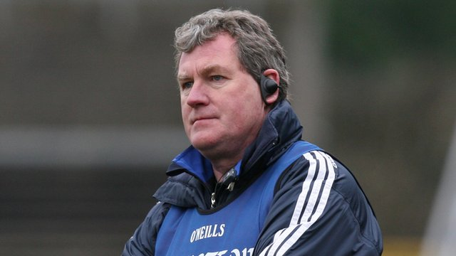Cavan manager Terry Hyland