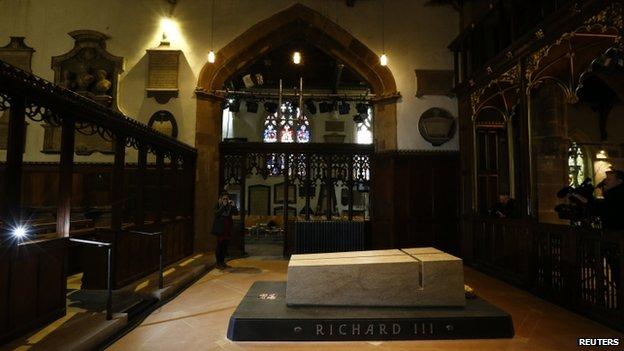 Richard III tombs