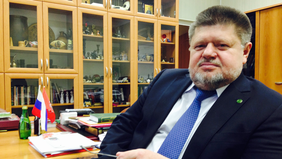 Dr Evgeny Brun, Russia's chief narcologist