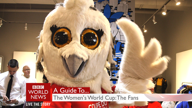 Fans gear up for the Women's World Cup