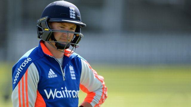 England batsman Adam Lyth