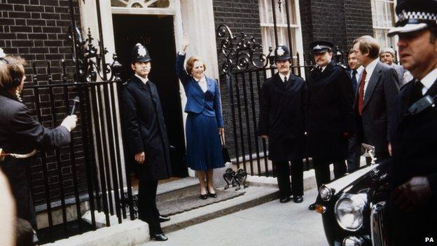 Margaret Thatcher in 1979