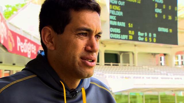 New Zealand batsman Ross Taylor