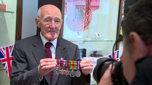 Robert Wright, 92, from north Belfast, was a teenage soldier serving in a Welsh regiment