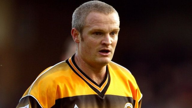 Chris Holland, in his days at Boston United