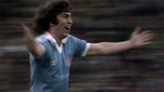 Steve MacKenzie scores a fantastic volley in the 1981 FA Cup final