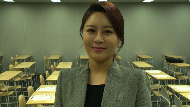 South Korean teacher Gwen Lee