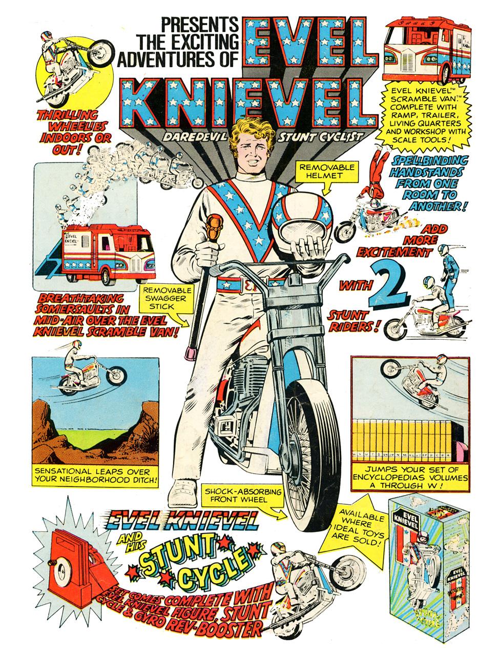 Stunt bike ad