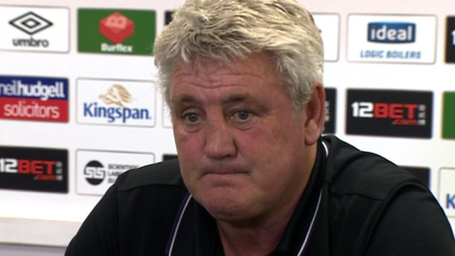 Steve Bruce's thoughts ahead of of relegation clash