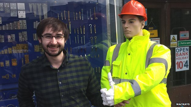 Tom from Cambridge 3D Printing and Dickie Mackay