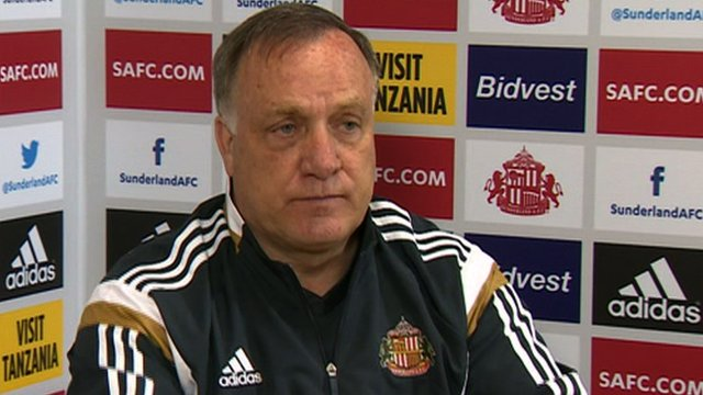 Advocaat thoughts on staying on as manager of Sunderland