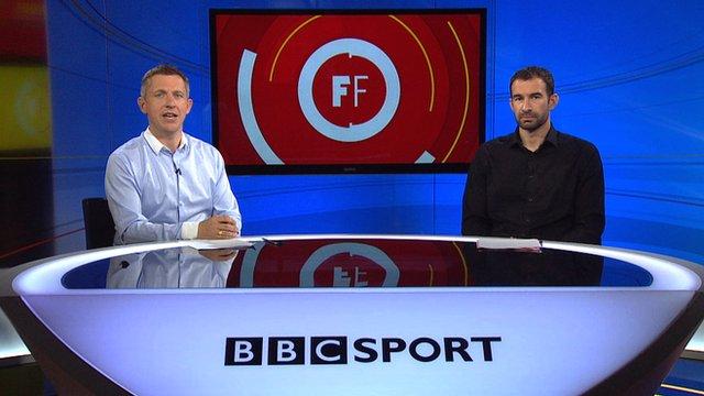 Steve Bower presents Football Focus with Danny Higginbotham