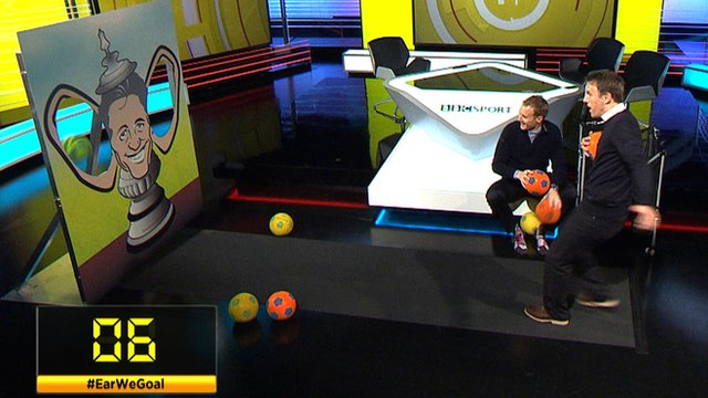 Phil Neville takes on the Gary's Big Ears challenge as part of BBC Sport's build up to the FA Cup final