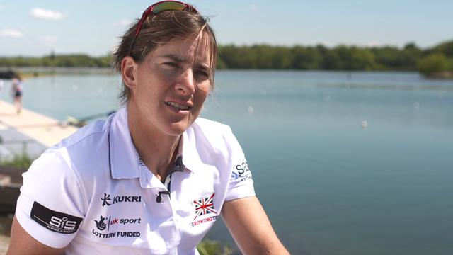 Olympic champion Katherine Grainger returns to action