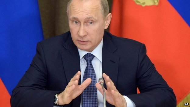Russia S Putin Signs Law Against Undesirable Ngos Bbc News