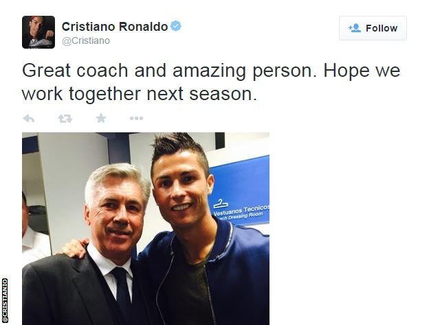 BBC Sport - Carlo Ancelotti will take sabbatical if sacked by Real Madrid