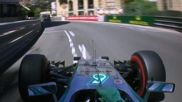 Nico Rosberg's pole lap in Monaco