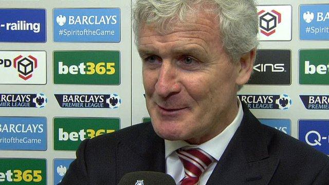 Stoke City's Mark Hughes