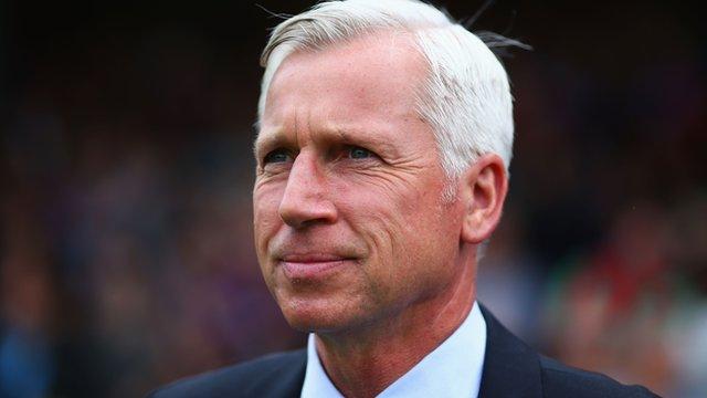 Crystal Palace's Alan Pardew