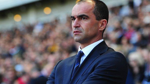 Everton's Roberto Martinez