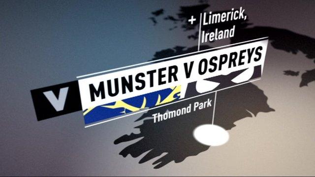 Pro12 highlights: Munster 21-18 Ospreys