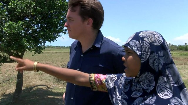 Jonah Fisher meets a Rohingya Muslim from Myanmar who was trafficked then ransomed back to her family