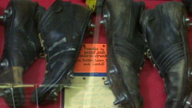 Scrum V: Carmarthen Athletic's sporting treasure trove