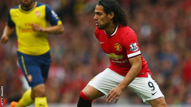 BBC Sport - Radamel Falcao: Manchester United decide not to sign striker