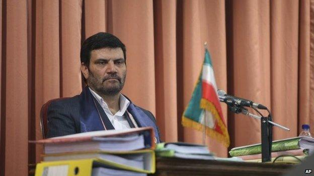 Judge Abolqasem Salavati in photo from 2009