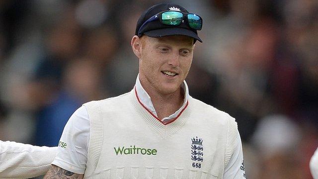 England al-rounder Ben Stokes