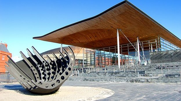 National Assembly for Wales in Cardiff Bay