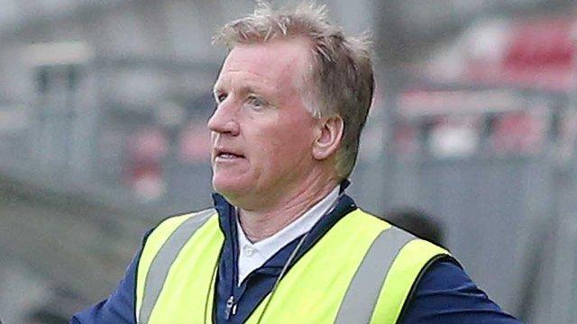 Dominic Corrigan was manager of Fermanagh and Sligo