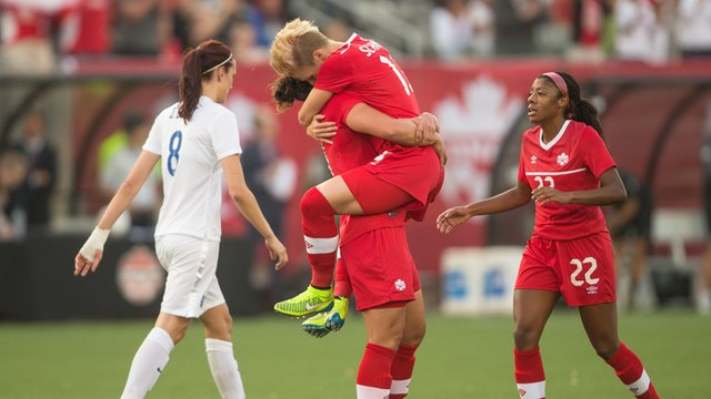 England beaten by Canada in World Cup warm up