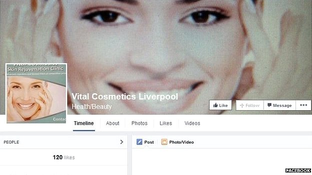 Vital Cosmetic Facebook group