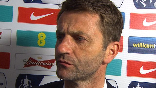 Sherwood's thoughts on 4-0 loss to Arsenal in FA Cup final