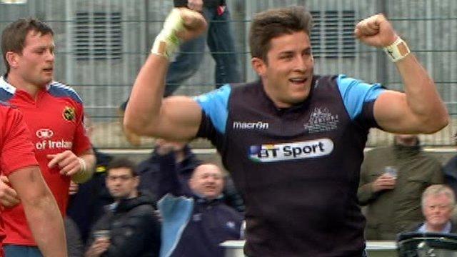 Pro12 final highlights: Glasgow 31-13 Munster