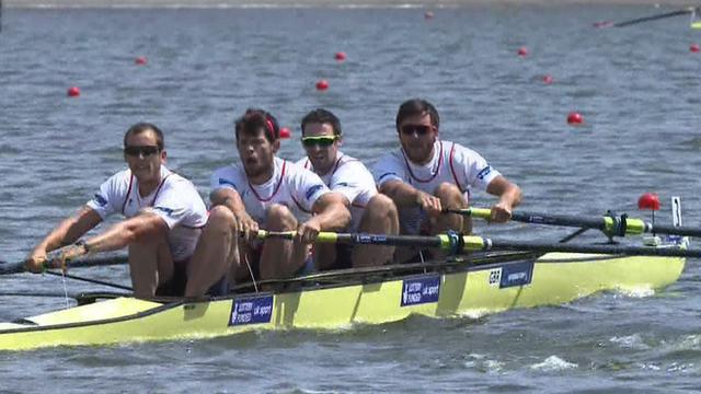 European Rowing Championships: Team GB win Men's Four