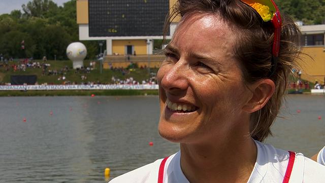 European Rowing Championships: Katherine Grainger wins bronze