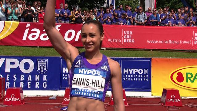 Gotzis heptathlon: Ennis-Hill runs hurdles