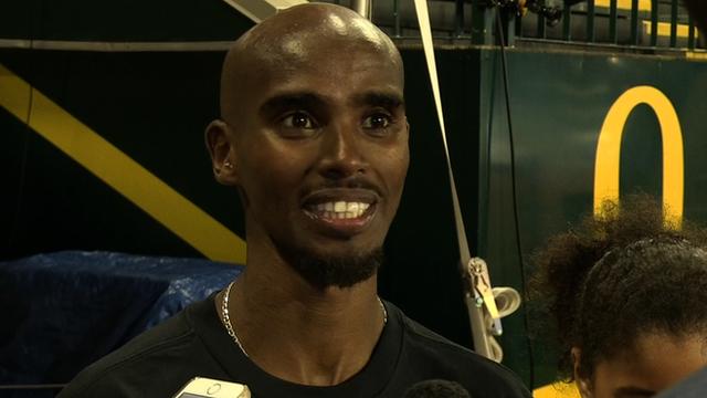 Mo Farah runs fastest 10,000m of 2015 at Eugene Diamond League