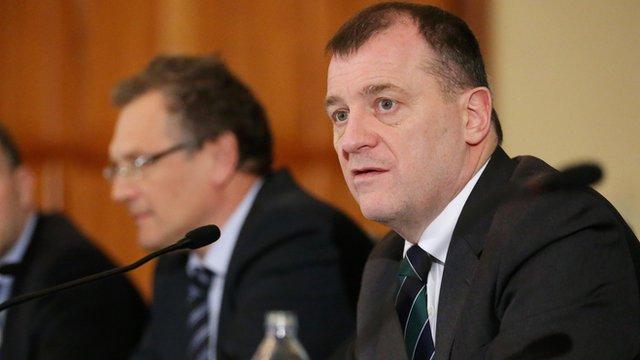 IFA chief executive Patrick Nelson