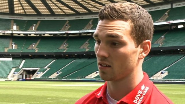 Wales and Northampton Saints wing George North