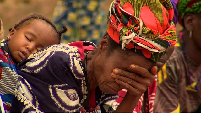 Villagers mourn another death from Ebola in south-east Guinea
