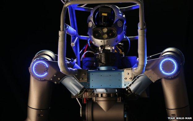 Team Walk-Man robot
