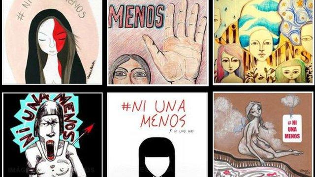 #NiUnaMenos campaign