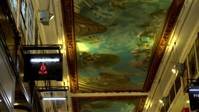 Piccadilly Arcade ceiling