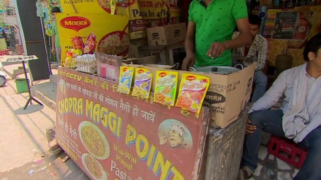 Maggi noodles are one of India's most popular foods, as Sanjoy Majumder  reports