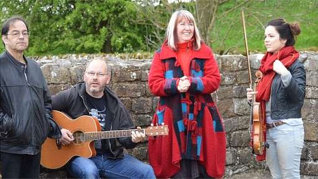 Maddy Prior and fellow musicians
